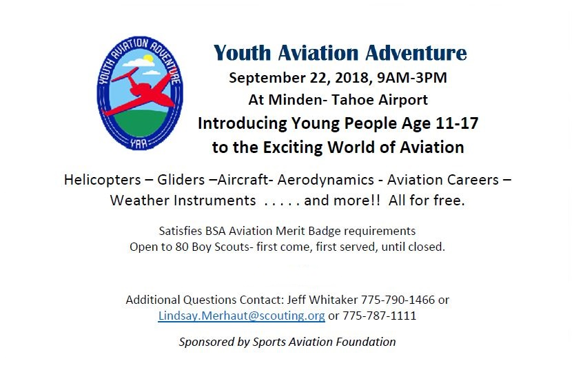 Youth Aviation Adventure 2018